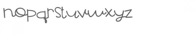 pn pawstricken Font LOWERCASE