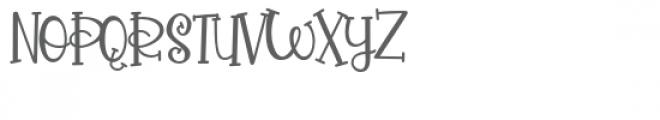 pn pollywag Font UPPERCASE