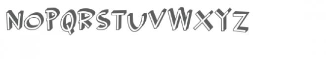 pn rosie robot rigid Font UPPERCASE