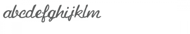 pn ruth and thelma lite Font LOWERCASE