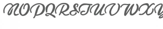 pn ruth & thelma stencil Font UPPERCASE