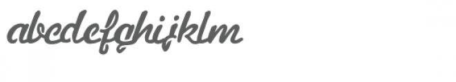 pn ruth & thelma stencil Font LOWERCASE
