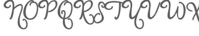 pn sophisticated bold Font UPPERCASE