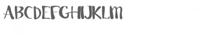 pn swanky lite Font UPPERCASE