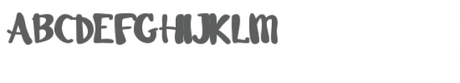 pn swanky Font UPPERCASE