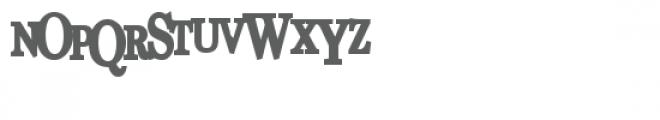 pn unfortunate news bold Font UPPERCASE