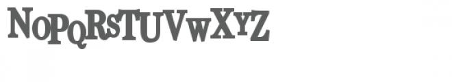 pn unfortunate news bold Font LOWERCASE
