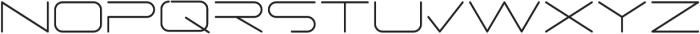 PORE otf (300) Font UPPERCASE