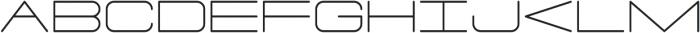 PORE otf (300) Font LOWERCASE