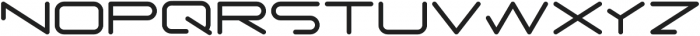 PORE otf (700) Font LOWERCASE