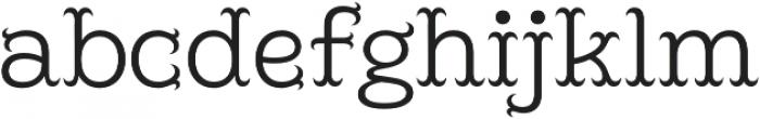 Poblano Light otf (300) Font LOWERCASE