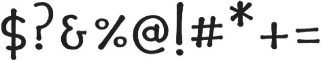 Pocket Swash otf (700) Font OTHER CHARS
