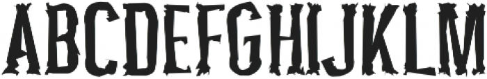 Pocus Primera Distorted otf (400) Font UPPERCASE