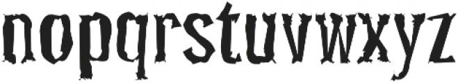 Pocus Primera Distorted otf (400) Font LOWERCASE