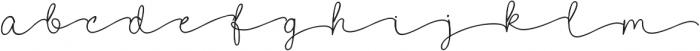 Poems & Pens Alternate Bold otf (700) Font LOWERCASE