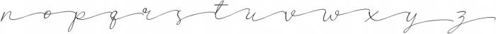 Poems & Pens Alternate Italic otf (400) Font LOWERCASE