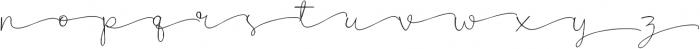 Poems & Pens Alternate otf (400) Font LOWERCASE