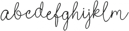 Poems & Pens Bold otf (700) Font LOWERCASE