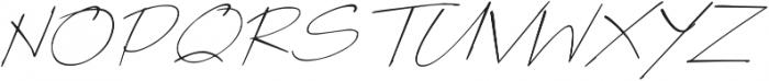 Poems & Pens Italic otf (400) Font UPPERCASE