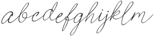 Poems & Pens Italic otf (400) Font LOWERCASE