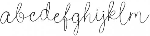 Poems & Pens otf (400) Font LOWERCASE