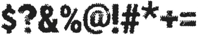 Poesan GHOST otf (400) Font OTHER CHARS