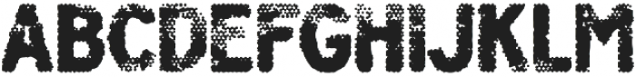 Poesan GHOST otf (400) Font LOWERCASE