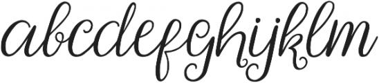 Poetovio otf (400) Font LOWERCASE