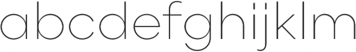 Point Thin otf (100) Font LOWERCASE