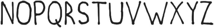 PointyInk Regular otf (400) Font LOWERCASE