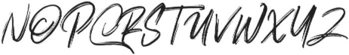 Polandic Regular otf (400) Font UPPERCASE