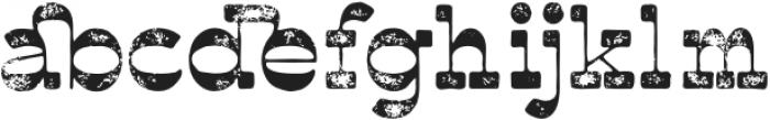 Polands-Textured otf (400) Font LOWERCASE
