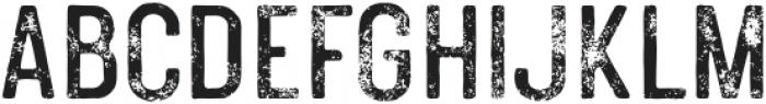 PolandsCaps-Textured otf (400) Font UPPERCASE