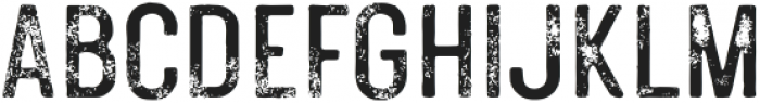 PolandsCaps-Textured otf (400) Font LOWERCASE