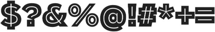 Polarband Regular otf (400) Font OTHER CHARS