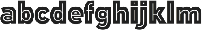 Polarband Regular otf (400) Font LOWERCASE