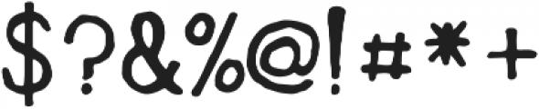 Polarbread ttf (400) Font OTHER CHARS
