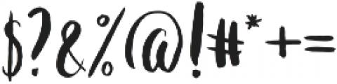 Polaris Regular otf (400) Font OTHER CHARS