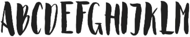 Polaris Regular otf (400) Font UPPERCASE
