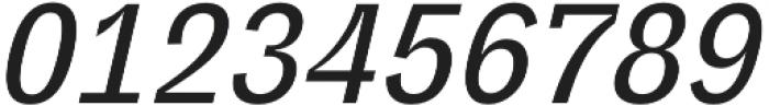 Polarity Medium Oblique otf (500) Font OTHER CHARS