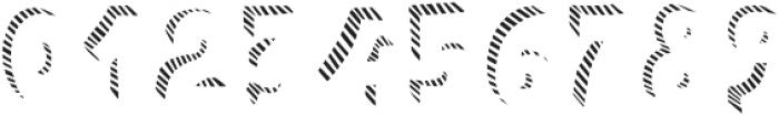 Polina Fill Striped otf (400) Font OTHER CHARS