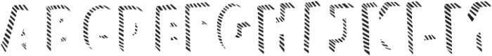 Polina Fill Striped otf (400) Font UPPERCASE