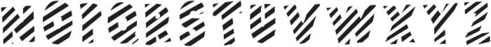 Polina Front2 Striped otf (400) Font UPPERCASE