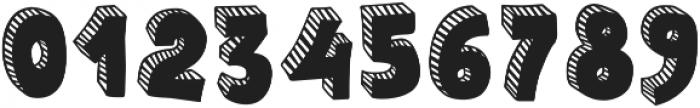 Polina Striped otf (400) Font OTHER CHARS