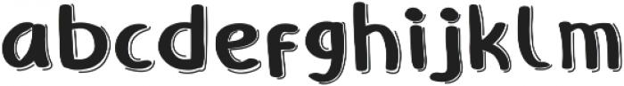 Polka otf (400) Font LOWERCASE