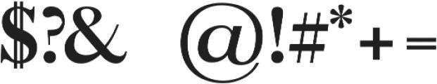 Pollyanna Regular otf (400) Font OTHER CHARS