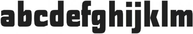 Polyflec Black otf (900) Font LOWERCASE