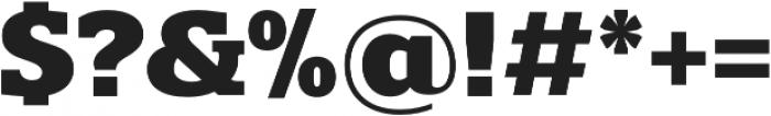 Polyphonic otf (700) Font OTHER CHARS