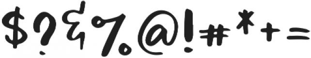 Pommie otf (400) Font OTHER CHARS