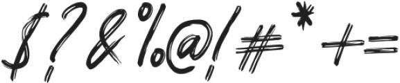 Pomthinq Regular otf (100) Font OTHER CHARS